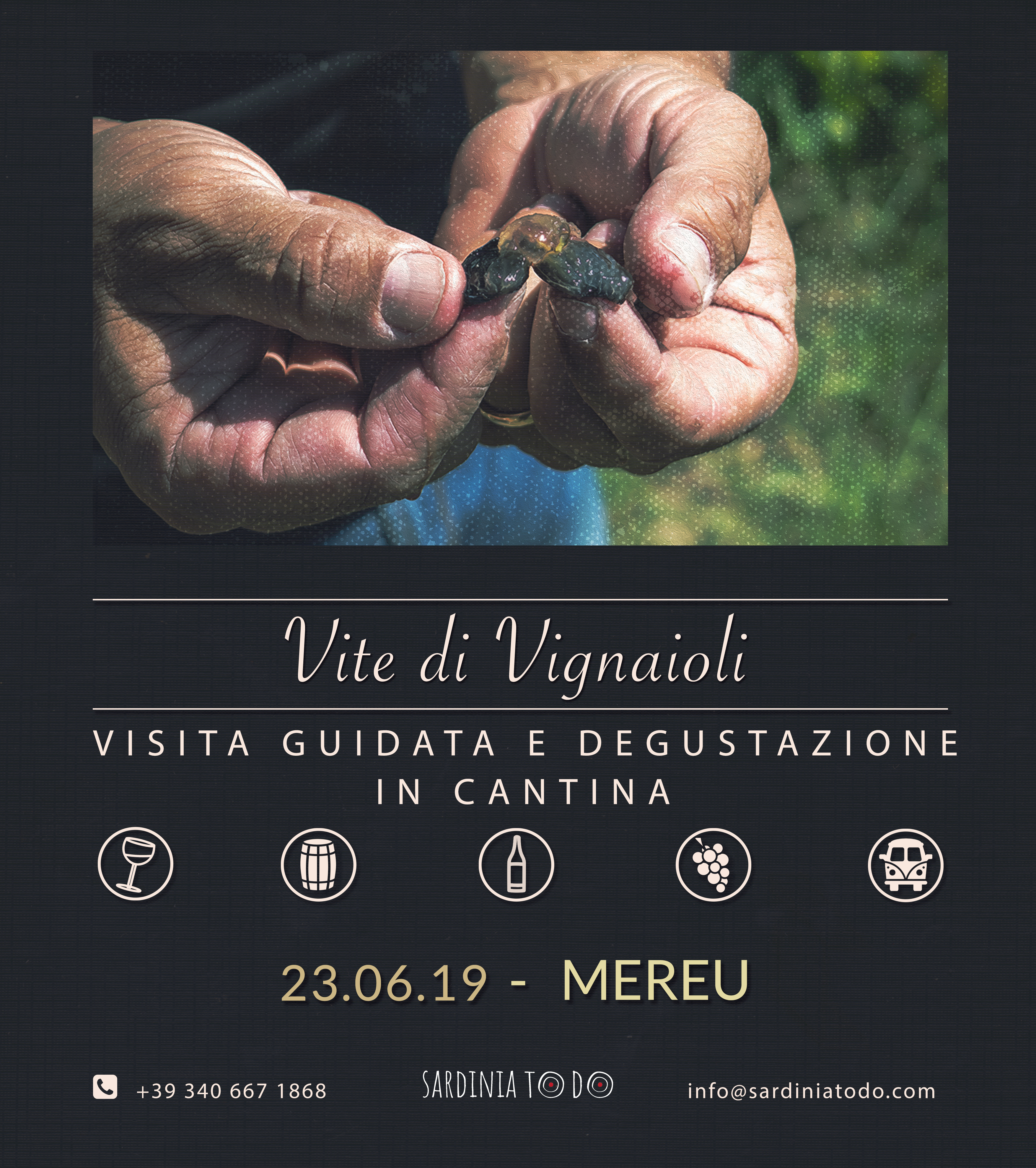 Vite di vignaioli – visita e degustazione alla Cantina Mereu di Sorgono